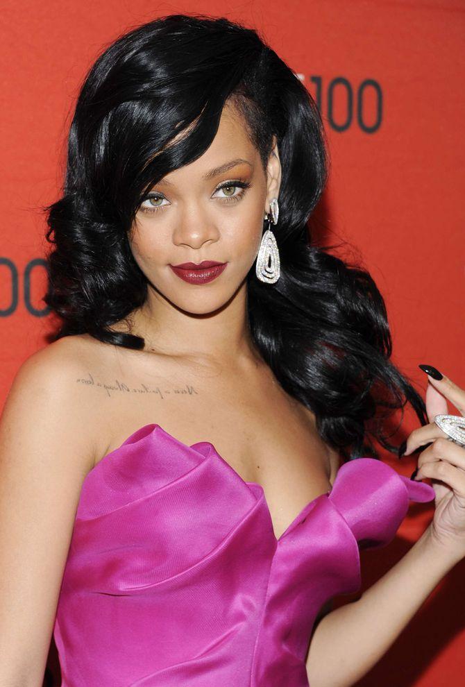 Rihanna tatouages