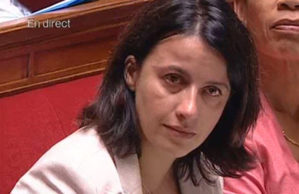 Cécile Duflot : Au bord des larmes à l'Assemblée (Vidéo)