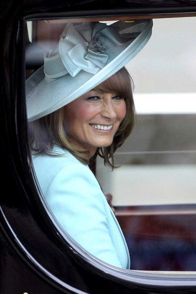 Carole, la mamma di Kate Middleton