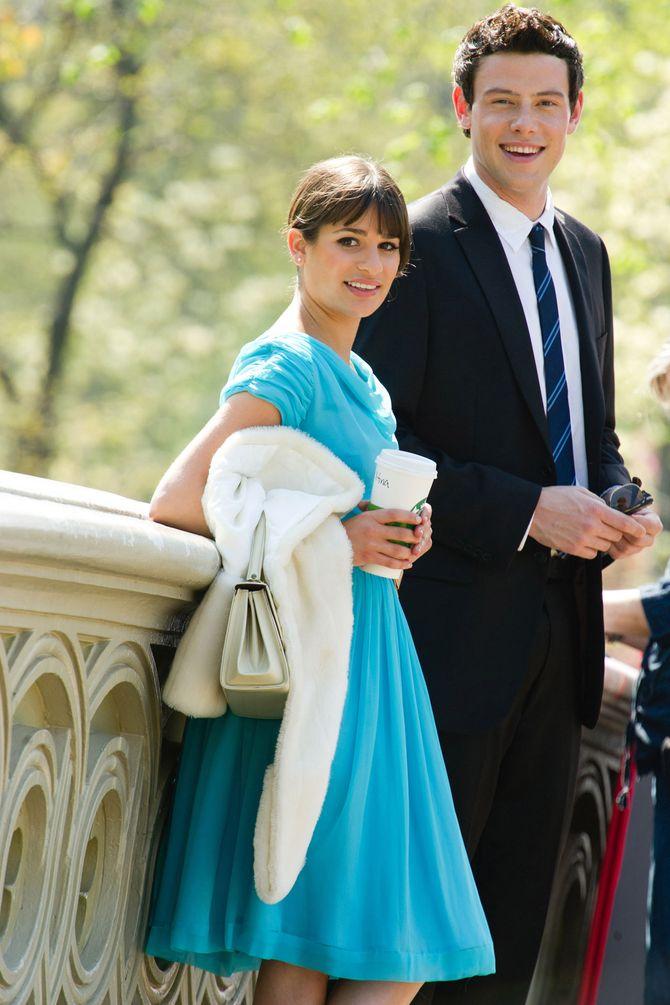 Cory Montheith y Lea Michelle, pareja dentro y fuera de la serie