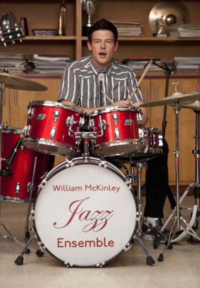 Cory Monteith dans Glee