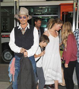 Johnny Depp : Amber Heard joue la nounou pour ses enfants (Photos)