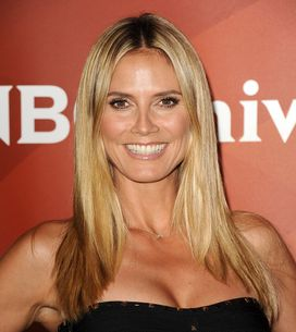 Heidi Klum : Topless sur la plage (Photos)