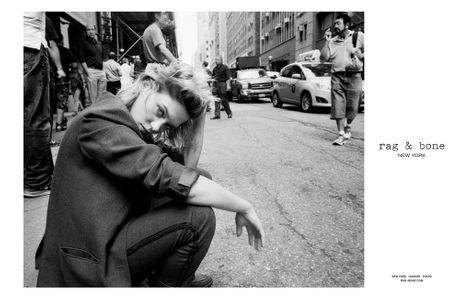 Léa Seydoux pour Rag & Bone