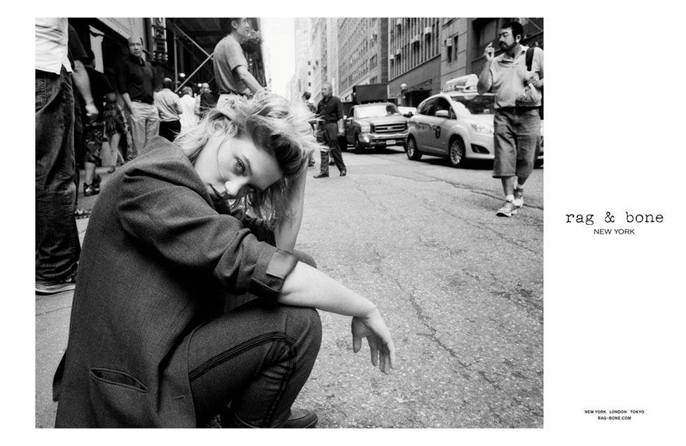 Léa Seydoux : En toute simplicité pour Rag & Bone (Photos)