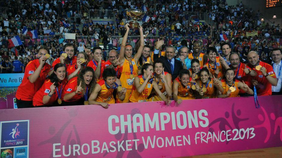 La selección femenina de baloncesto se lleva el oro en el europeo sub 20
