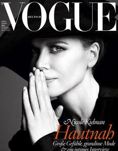 Nicole Kidman pour le Vogue allemand