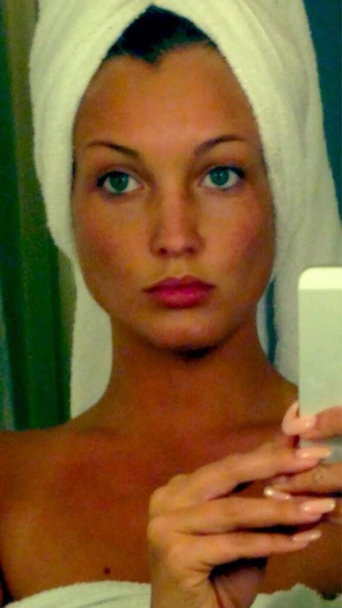 Aurélie sans maquillage
