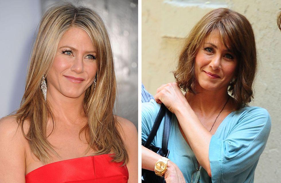 Jennifer Aniston : Elle passe au carré brun ! (Photos)