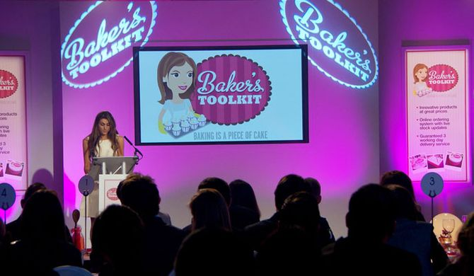 Luisa Zissman pitches her idea