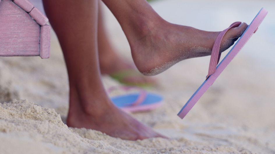 Chaussures d'été, un danger pour notre santé ?
