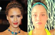 Jessica Alba : Sans maquillage, ça donne ça ! (Photos)