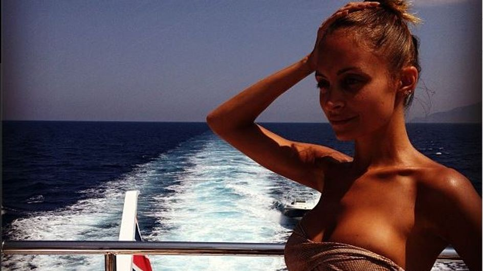 Nicole Richie en bikini : Une bombe à Portofino (Photos)