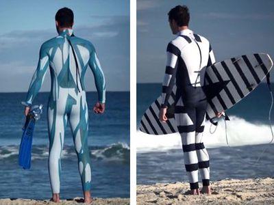 Une combinaison anti-requin pour les surfeurs