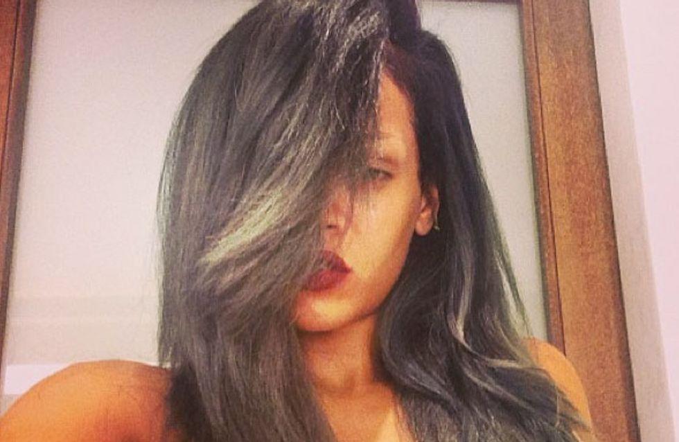 Rihanna : Une nouvelle couleur de cheveux pour l'été (photos)