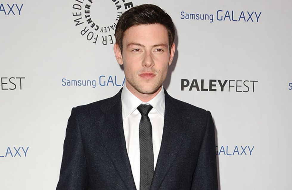 """WATCH Cory Monteith tells fan to """"stay out of trouble"""" in final video before his death"""