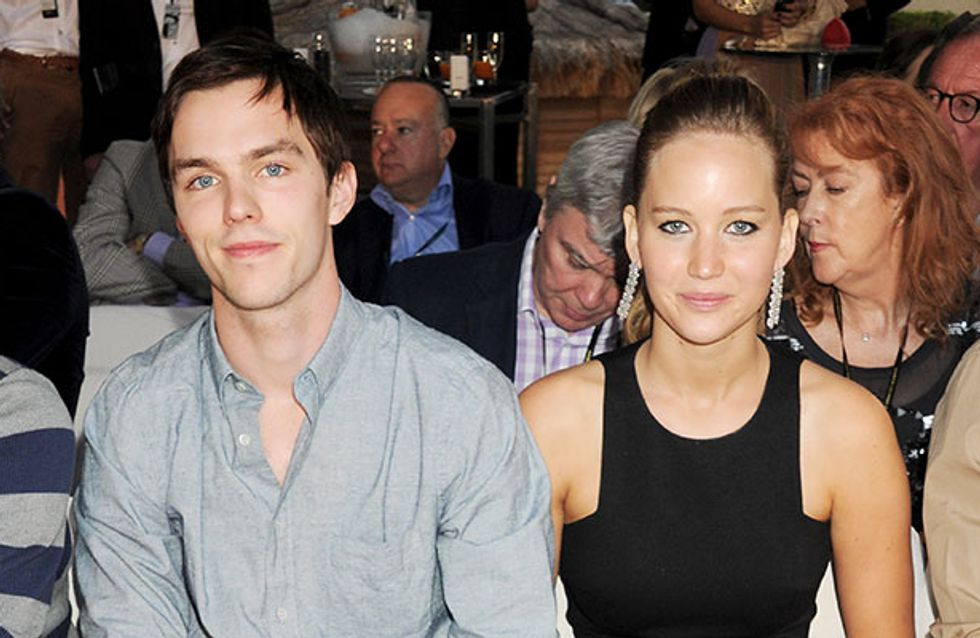 """Jennifer Lawrence """"in love again"""" with X-Men co-star Nicholas Hoult"""