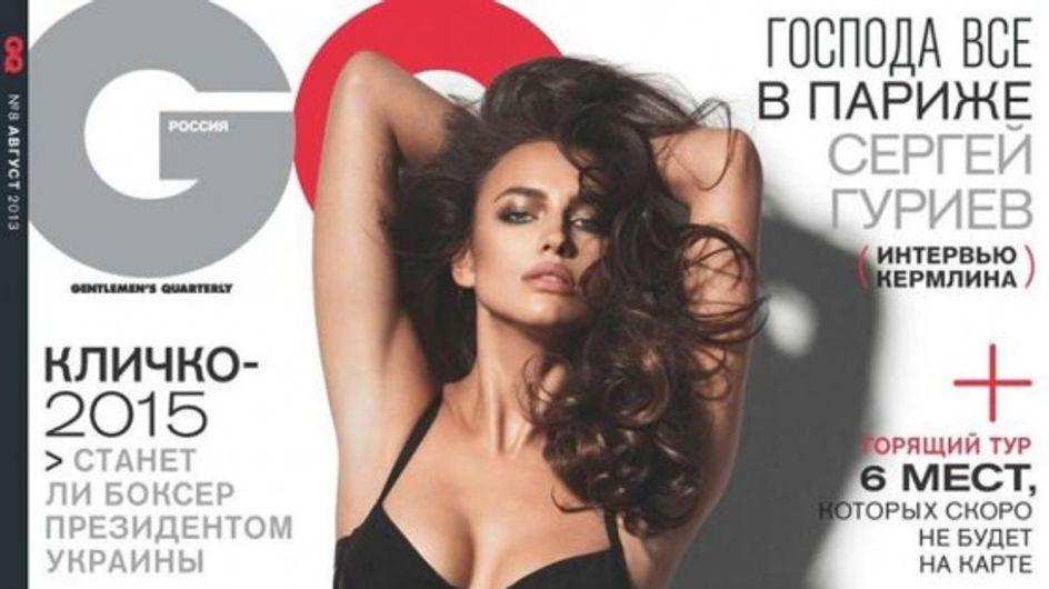 Irina Shayk : Ultra sexy en Une de GQ (Photos)