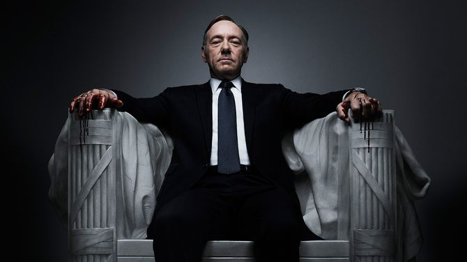 House of cards, nominada a Mejor serie de comedia