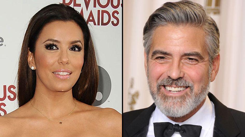Eva Longoria : George Clooney s'est pris un râteau avec elle