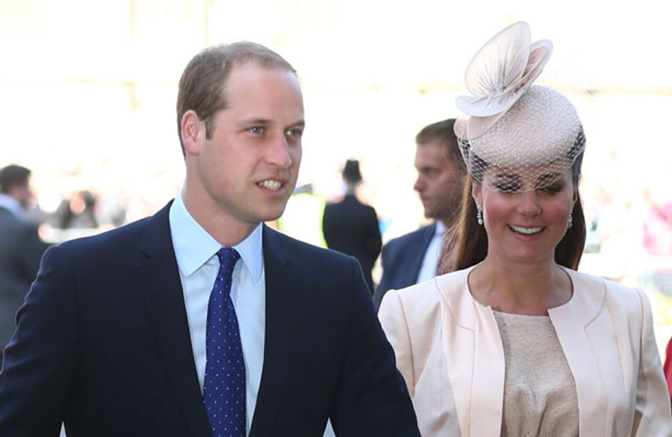 OFFICIAL ROYAL BABY NEWS: Kate Middleton goes into labour with Prince William by her side