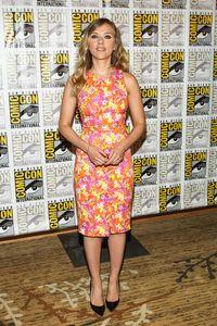 Scarlett Johansson au Comic-Con