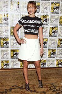 Jennifer Lawrence aux Comic-Con 2013