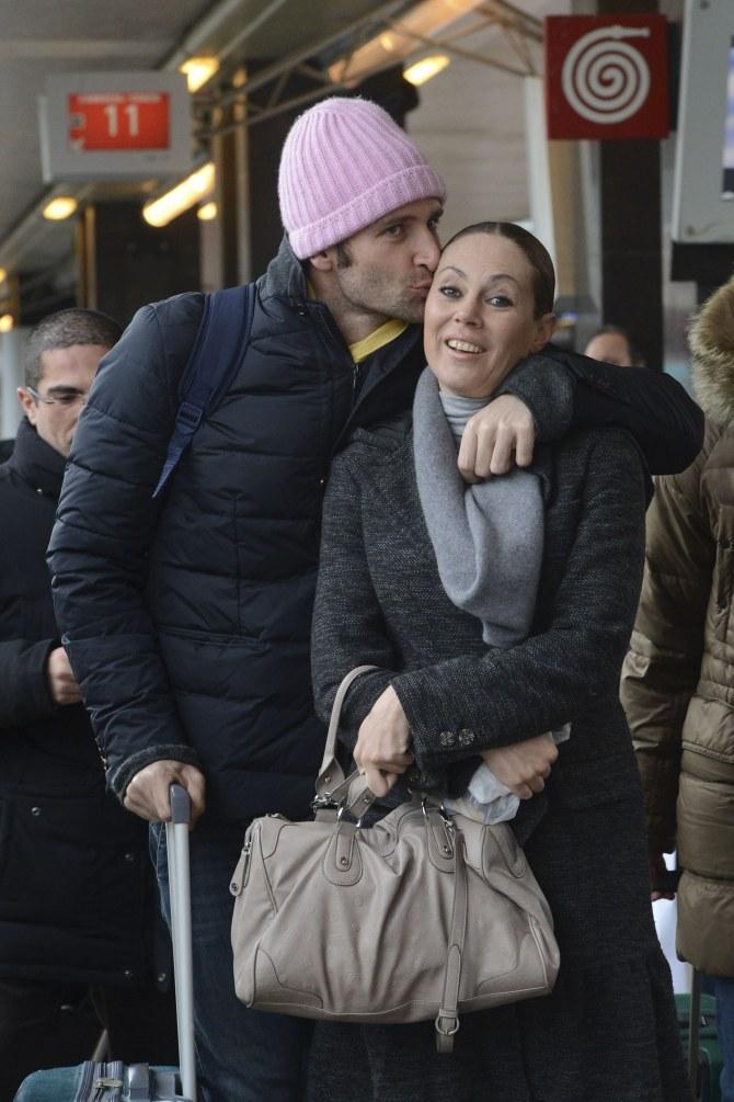 Massimiliano Rosolino e Natalia Titova