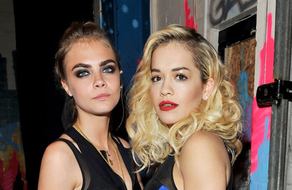 """Rita Ora's new wifey: Singer """"upgrades"""" from Cara Delevingne to Kate Moss"""