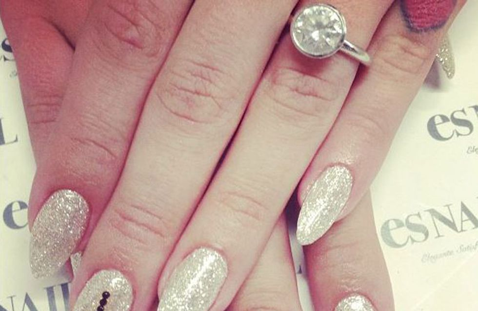First look: Kelly Osbourne reveals engagement ring