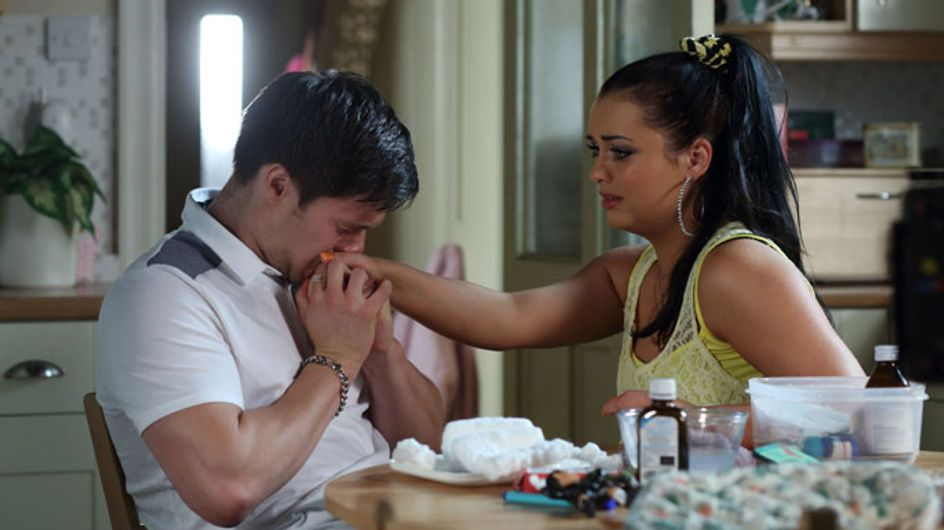 EastEnders 01/08 - Tyler and Whitney admit defeat