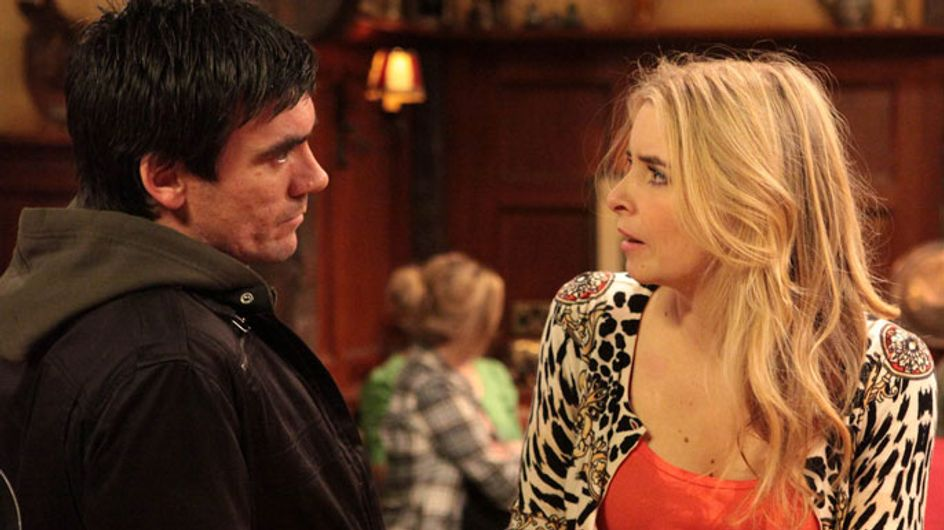 Emmerdale 02/08 - Cain wants to get to the bottom of his suspicions