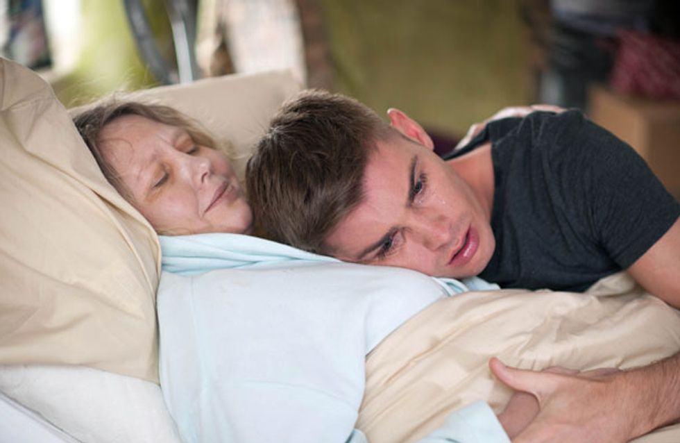 Hollyoaks 01/08 – Ste's mum asks him to end her life