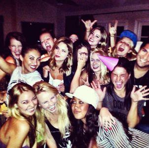 Selena Gomez et ses amis pour son anniversaire