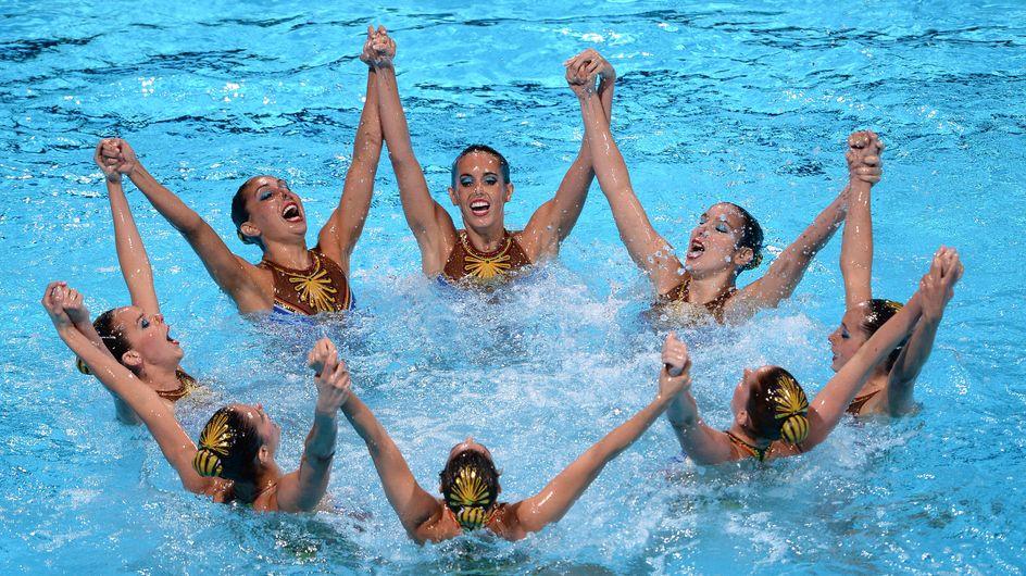 Primera plata para España en los Mundiales de natación sincronizada