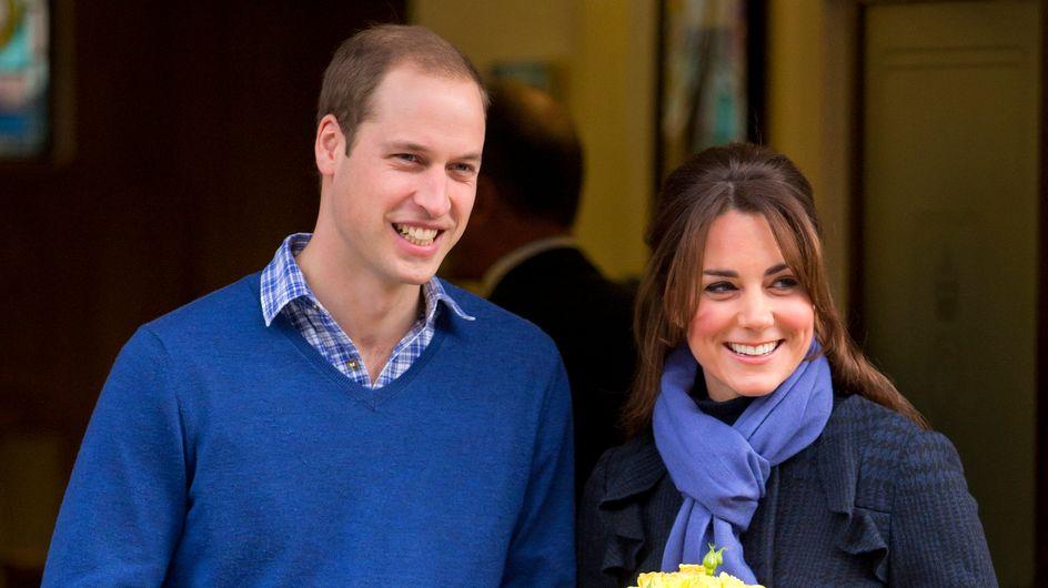 Royal Baby : Kate et William fêtent l'arrivée de leur garçon avec une pizza