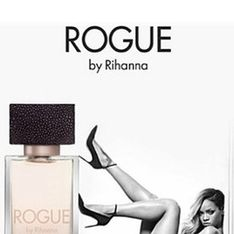 Rihanna pulls a sexy pose in raunchy ad for new Rogue fragrance