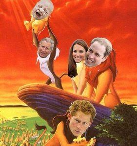 La parodie de la naissance du Royal baby