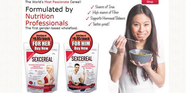 SexCereal, les céréales de la santé sexuelle ?
