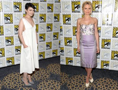 Ginnifer Goodwin et Jennifer Morrison au Comic-Con