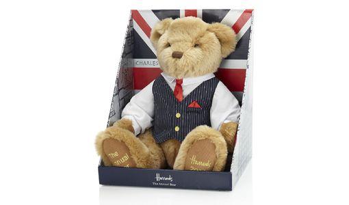L'ours en peluche Harrods, premier cadeau du Royal baby