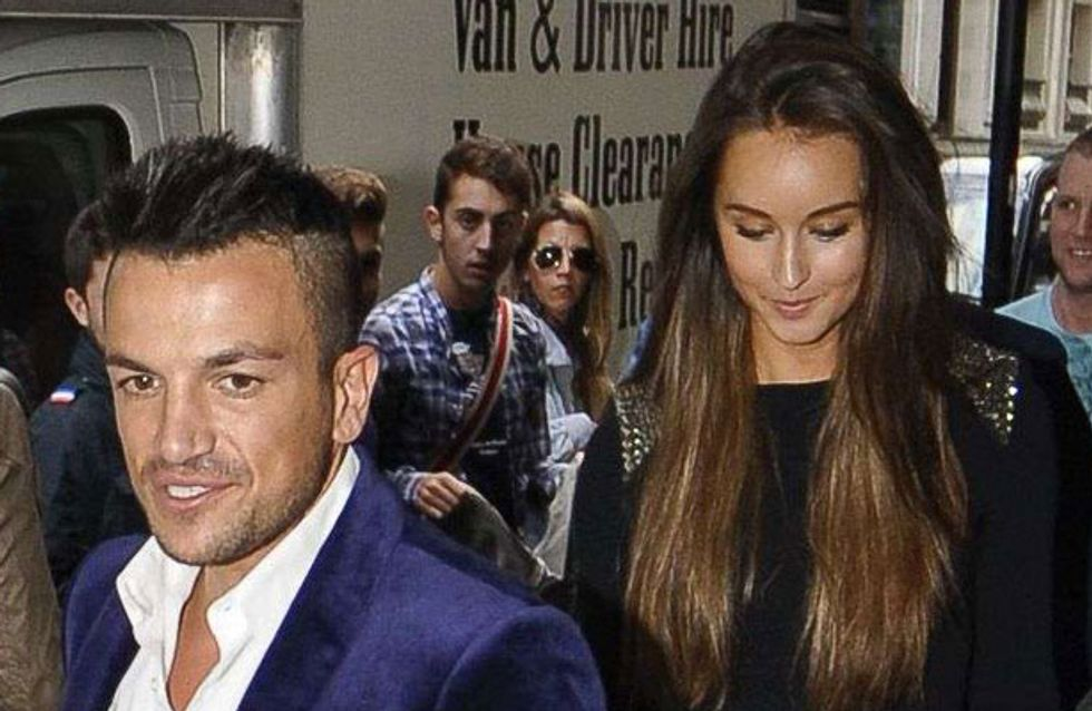Katie Price reacts to news that Peter Andre's girlfriend is pregnant