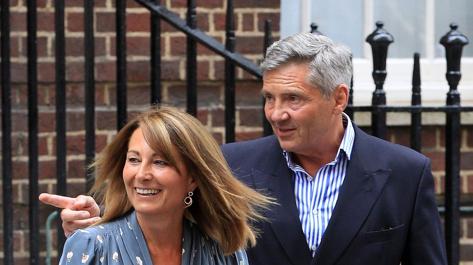"""Carole Middleton : """"Il est très beau et ils vont très bien"""""""