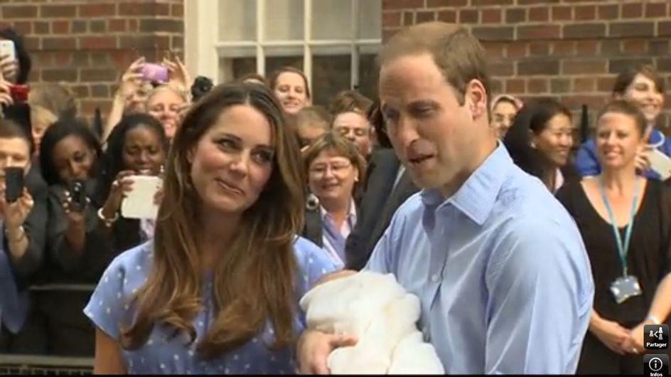 Kate Middleton nous présente le Royal Baby ! (Photos)