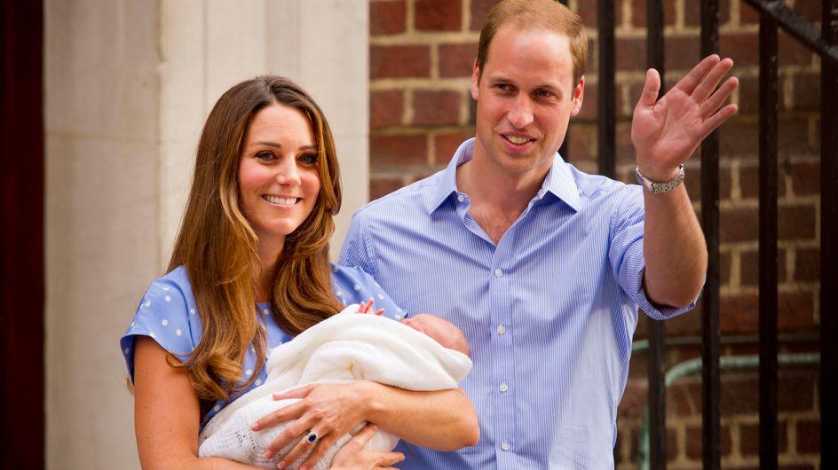 El heredero británico ya está en casa