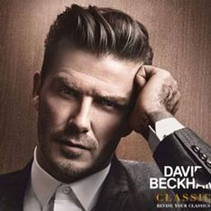 David Beckham in topless fragrance teaser advert