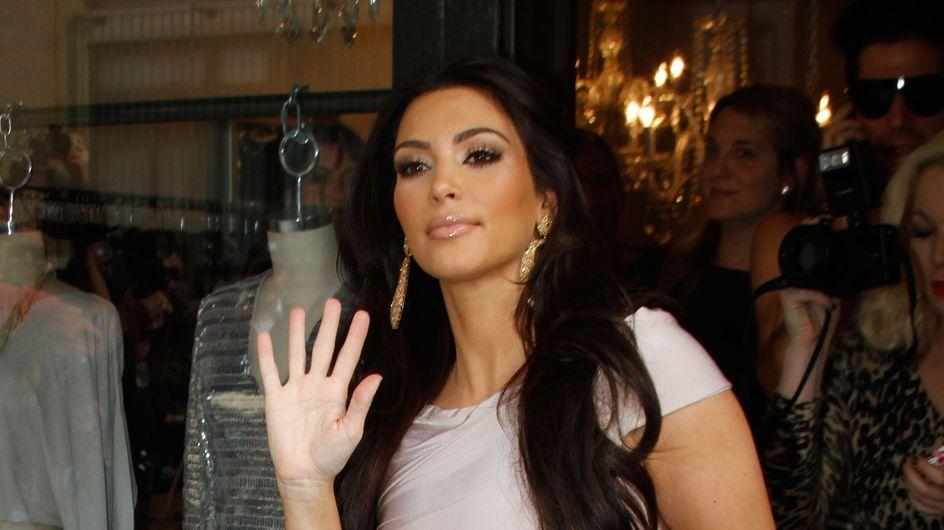 Kim Kardashian : Elle n'arrive pas à perdre ses kilos de grossesse
