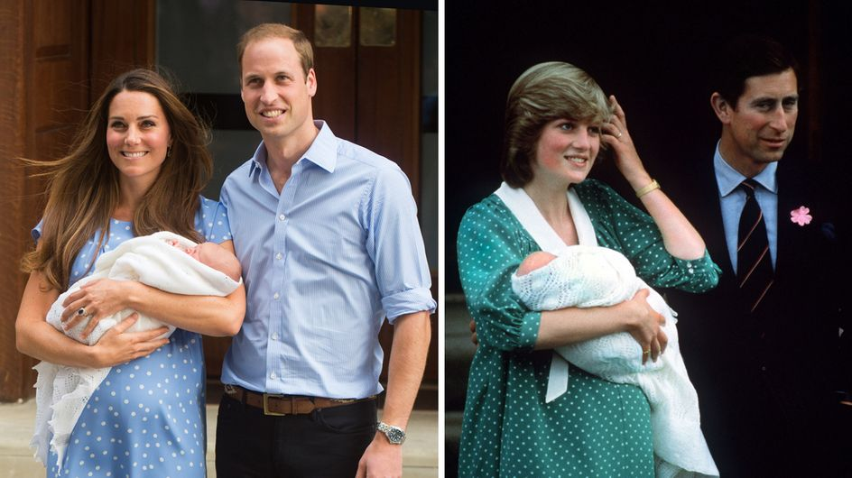 Lady Diana et Kate Middleton : Deux princesses, un style !