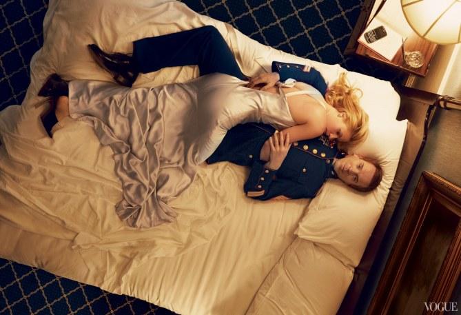 Claire Danes pour le magazine Vogue