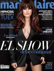 Lea Michele pour Marie Claire